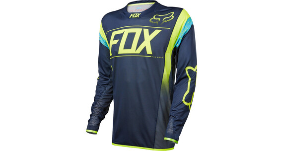 Fox Flexair Dh LS Jersey Men navy